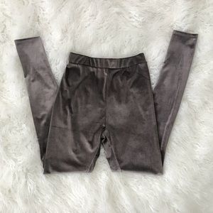Zara Velvet Leggings